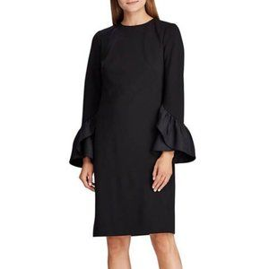 NWT $145 Ralph Lauren Womens 10 Ruffle Dress